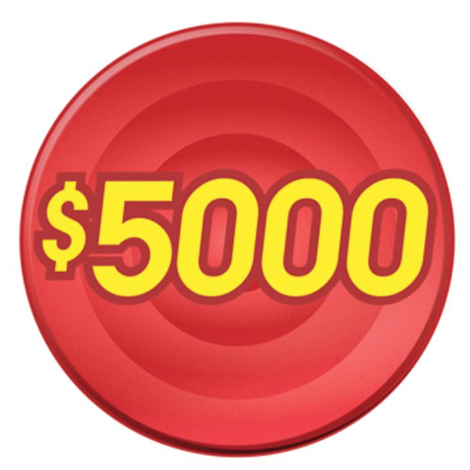 $5,000 graphic