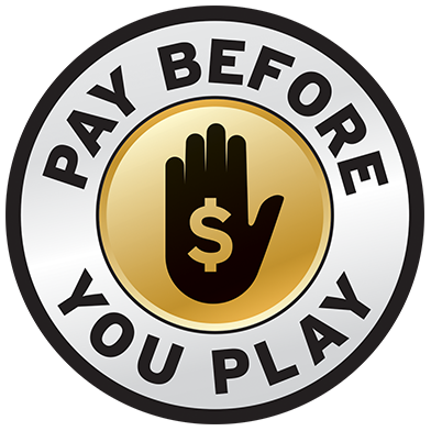 Pay before you play graphic