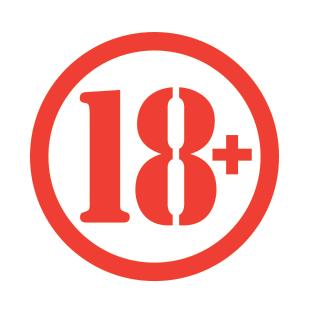 """18+"" graphic"