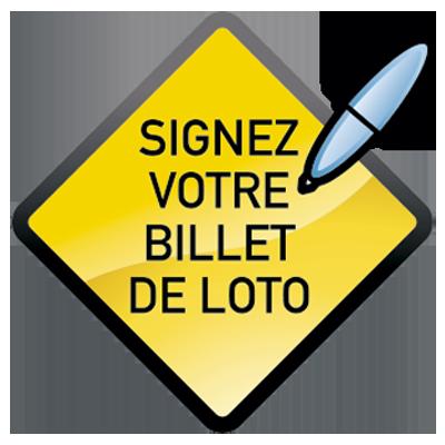 Image avec Signez votre billet de Loto