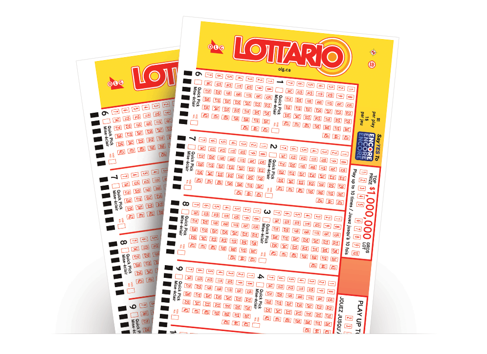 Two LOTTARIO tickets