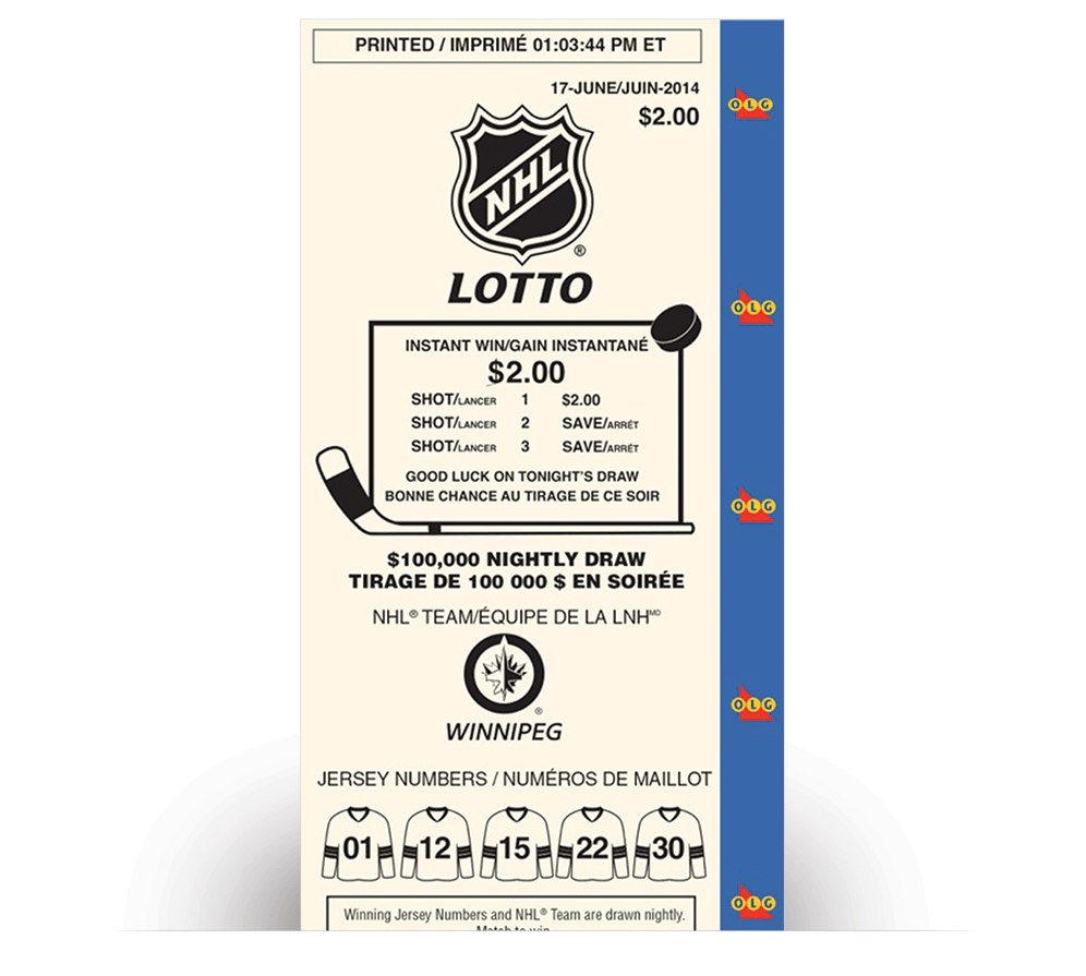 Billet de NHL® LOTTO