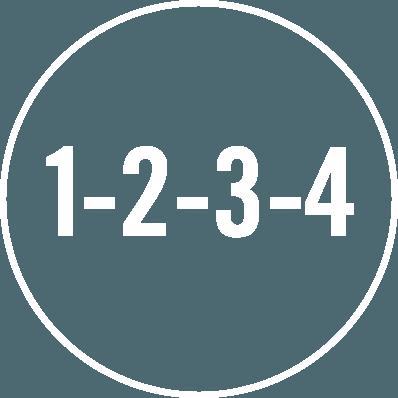 Image avec chiffres dans l'ordre