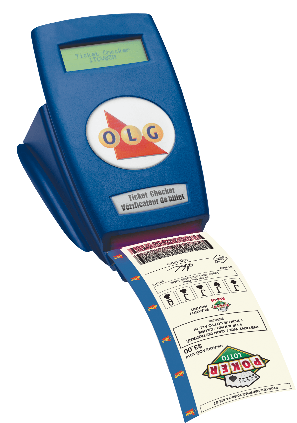 OLG ticket checker