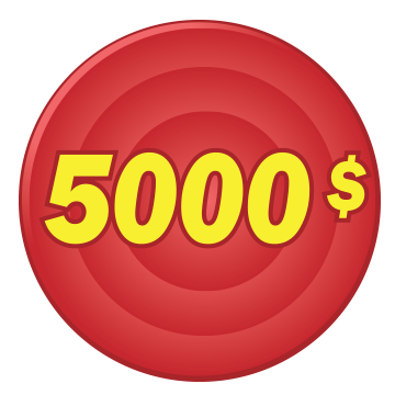 Image avec 5000$