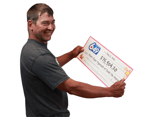 RECENT Lotto 6/49 WINNER - Mark-Ryan Vigneault