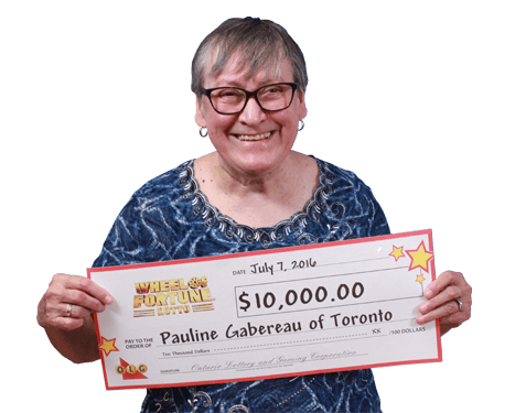 RECENT Wheel of Fortune® Lotto WINNER - Pauline Gabereau