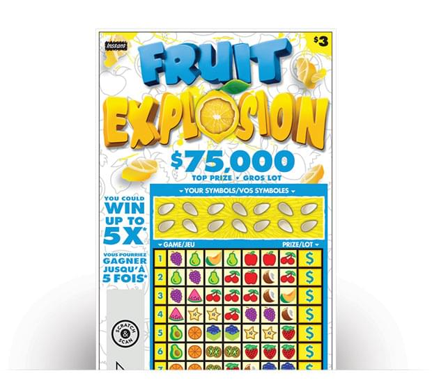 Fruit Explosion Ticket