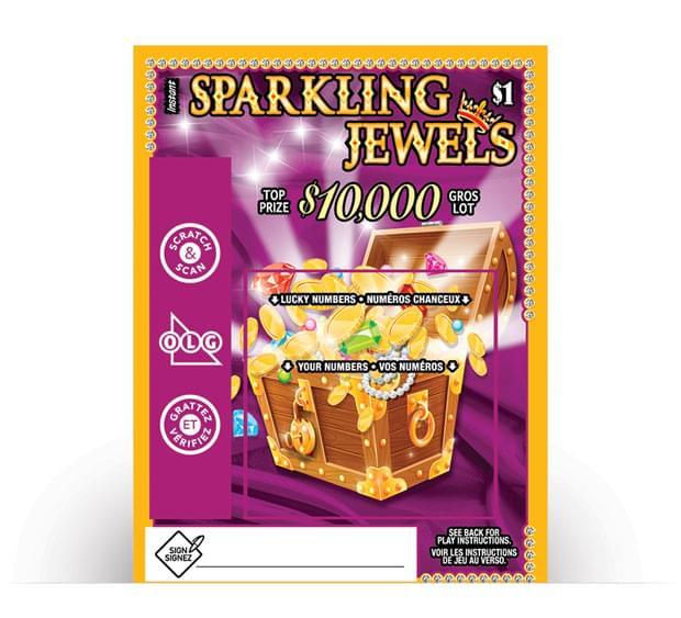 Sparkling Jewels Ticket