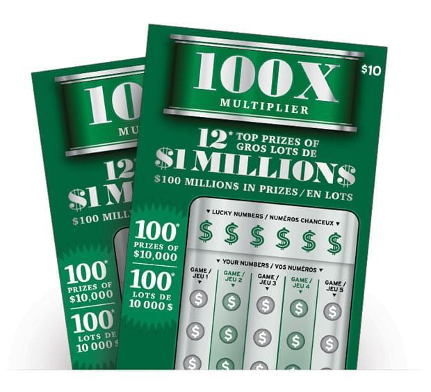 100x Multipler Ticket