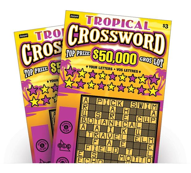 Two Topical Crossword Tickets