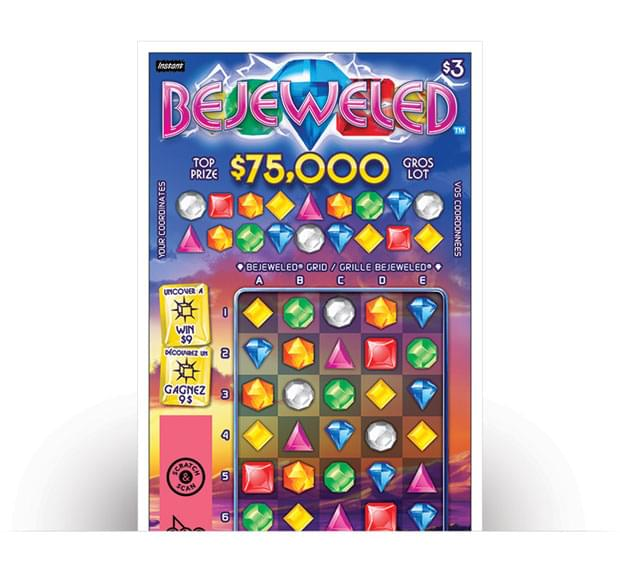 BEJEWELED ticket