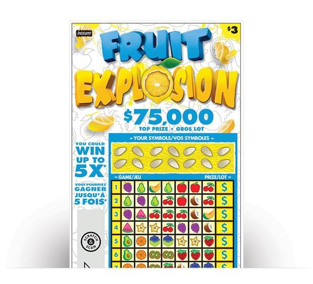 Billet de FRUIT EXPLOSION