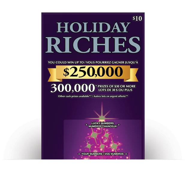 Holiday Riches Ticket