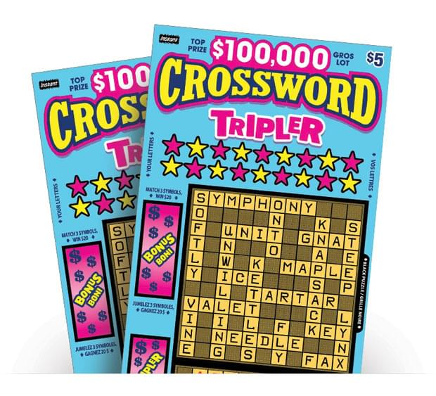 Crossword Tripler Ticket