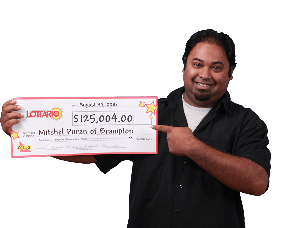 RECENT Lottario WINNER - Mitchel Puran