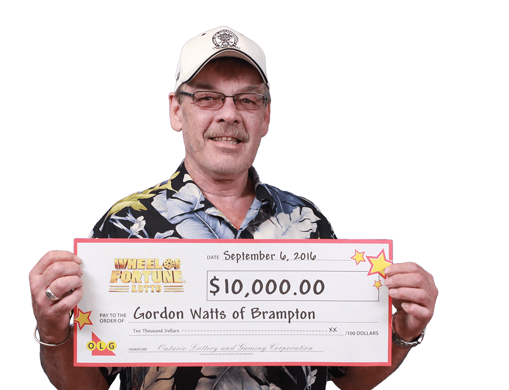 RECENT Wheel of Fortune® Lotto WINNER - Gordon Watts