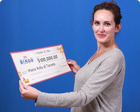 RECENT Instant WINNER - Maria Avila