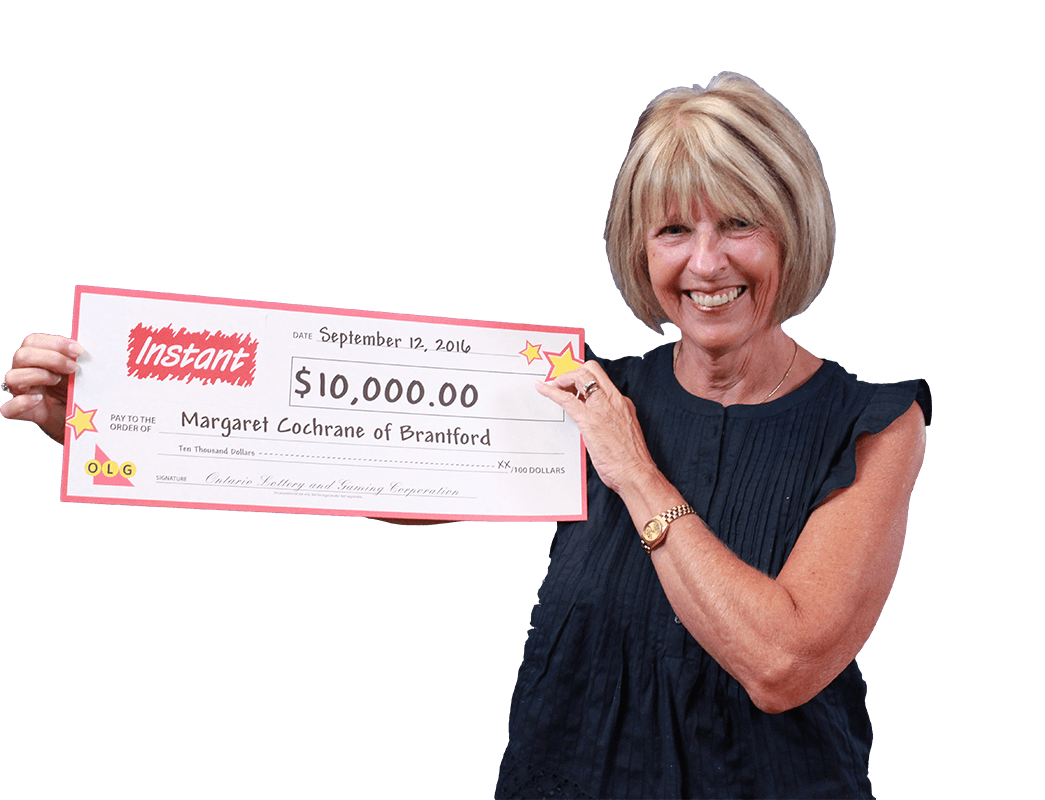 RECENT Instant WINNER - Margaret Mary Cochrane
