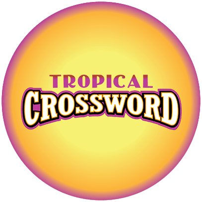TROPICAL CROSSWORD logo