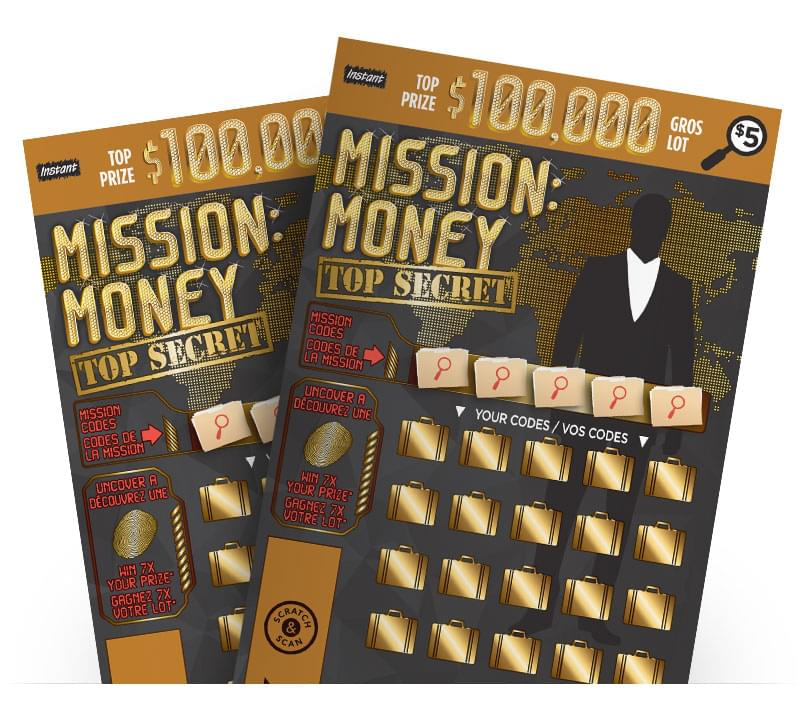 Two MISSION: MONEY Tickets