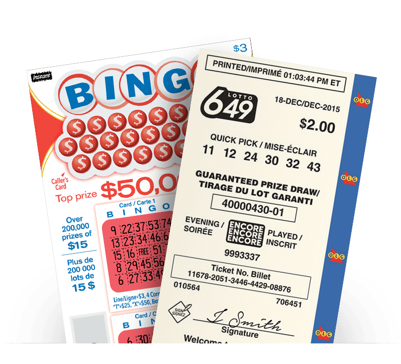 LOTTO 649 ticket