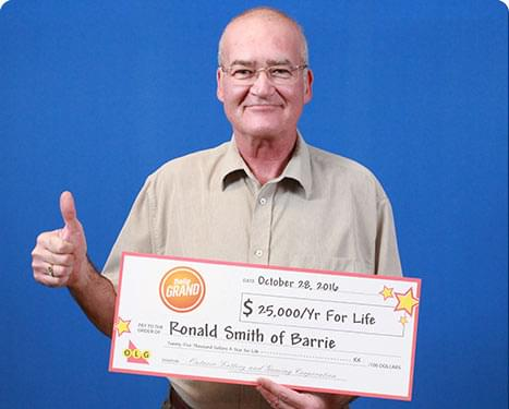 RECENT DAILY GRAND WINNER - Ronald Smith