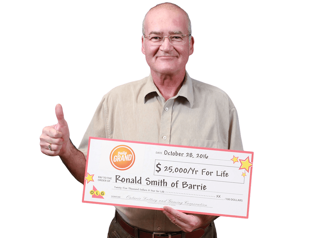 GAGNANT RÉCENT À DAILY GRAND - Ronald Smith