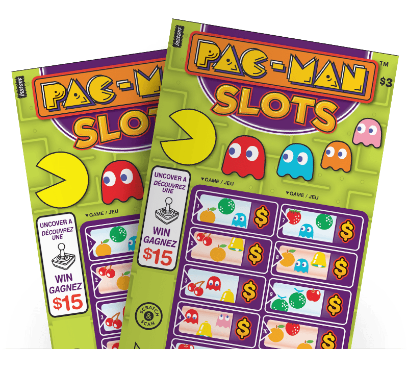 Two PAC-MAN™ SLOTS tickets