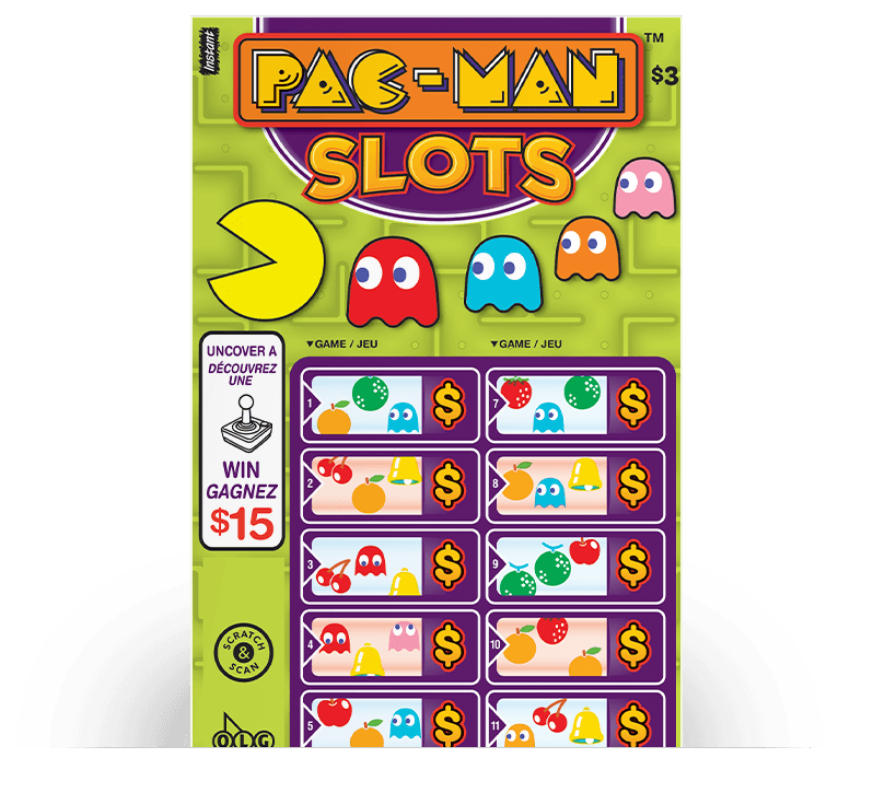 PAC-MAN™ SLOTS Ticket