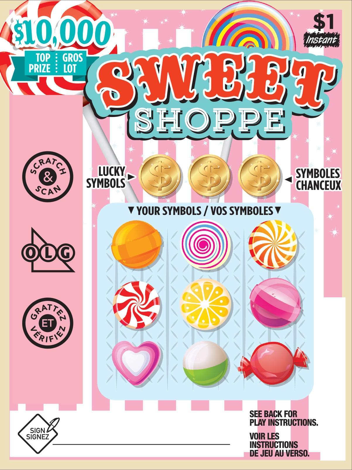 Sweet Shoppe Ticket