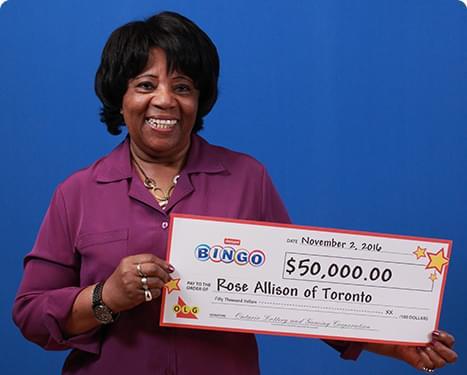 RECENT Instant WINNER - Rose Allison