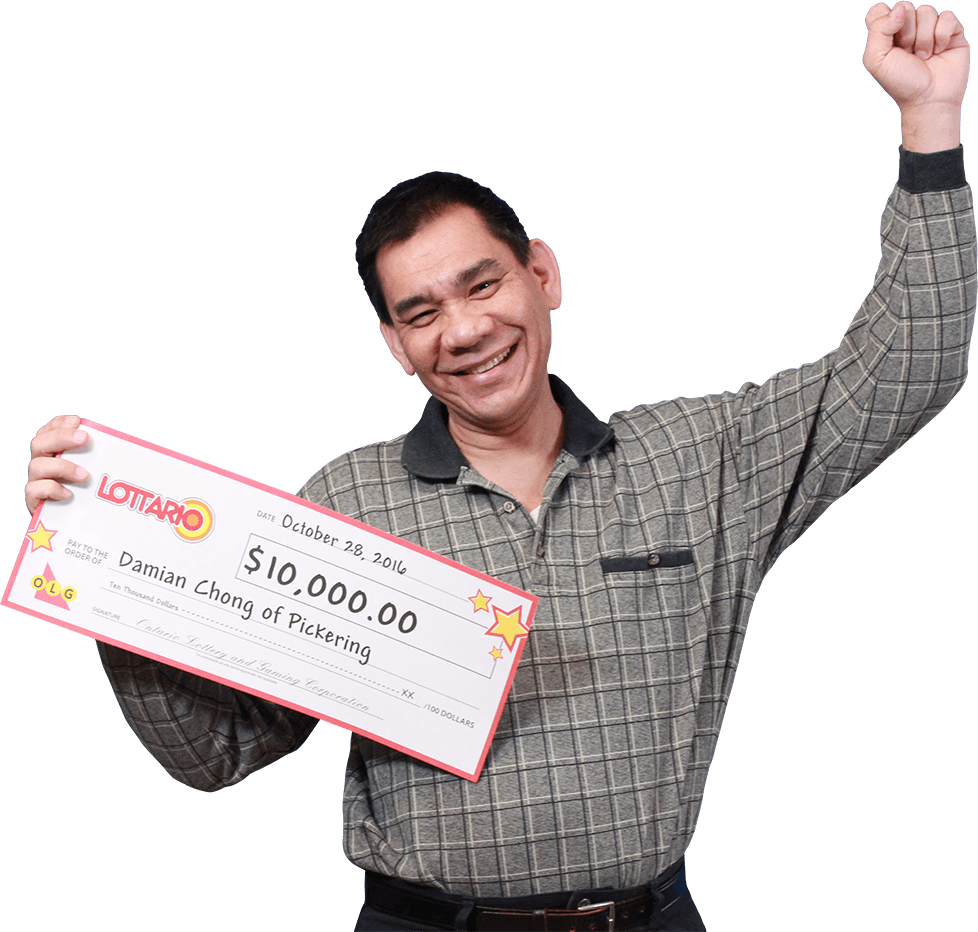 RECENT Lottario WINNER - Damian Chong