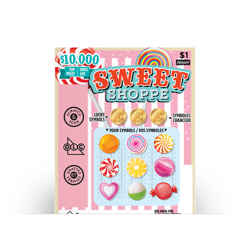 Billet de Sweet Shoppe