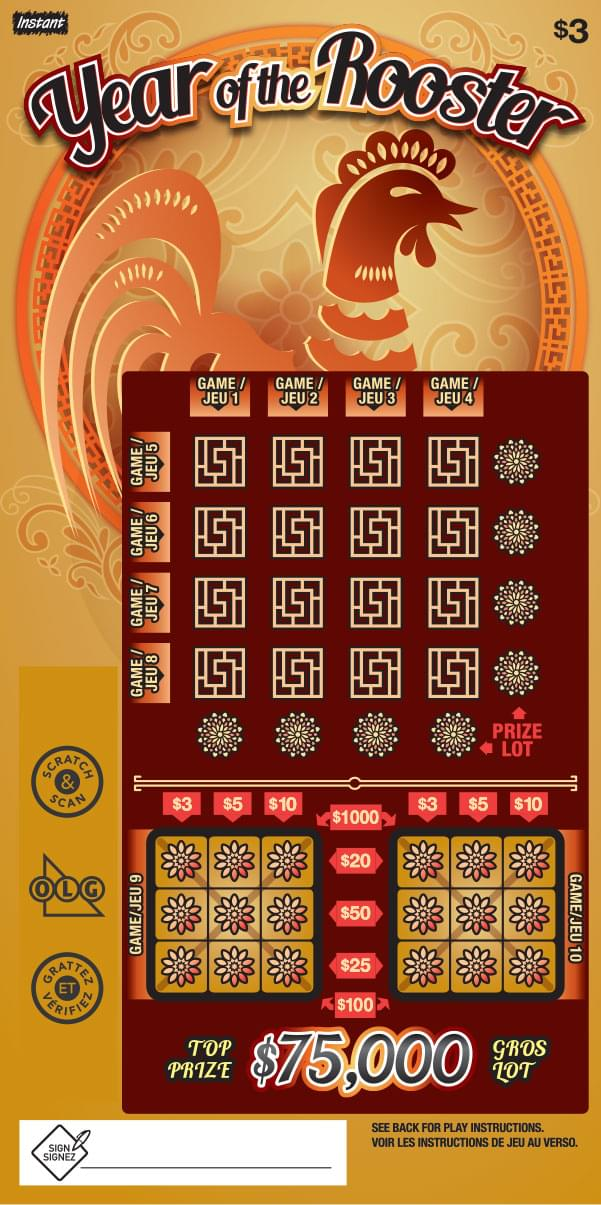 Year of the Rooster Ticket