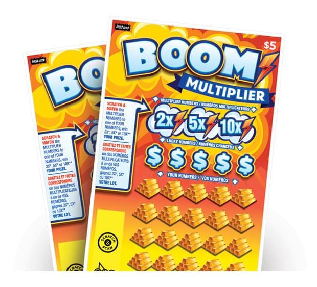 Boom Multiplier fanned art