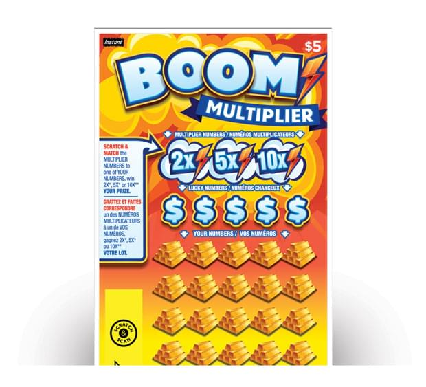 Boom Multiplier ticket