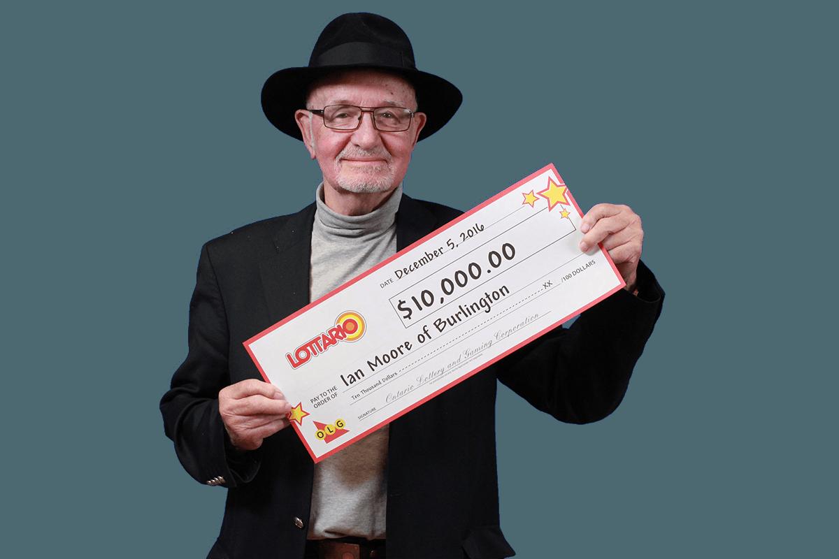 RECENT Lottario WINNER - Ian Moore