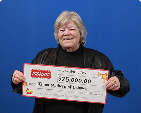 RECENT Instant WINNER - Janna Mathers