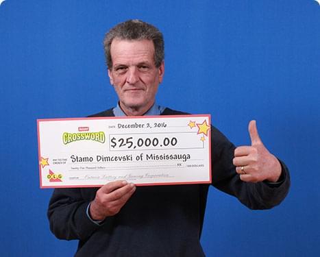RECENT Instant WINNER - Stamo Dimcevski