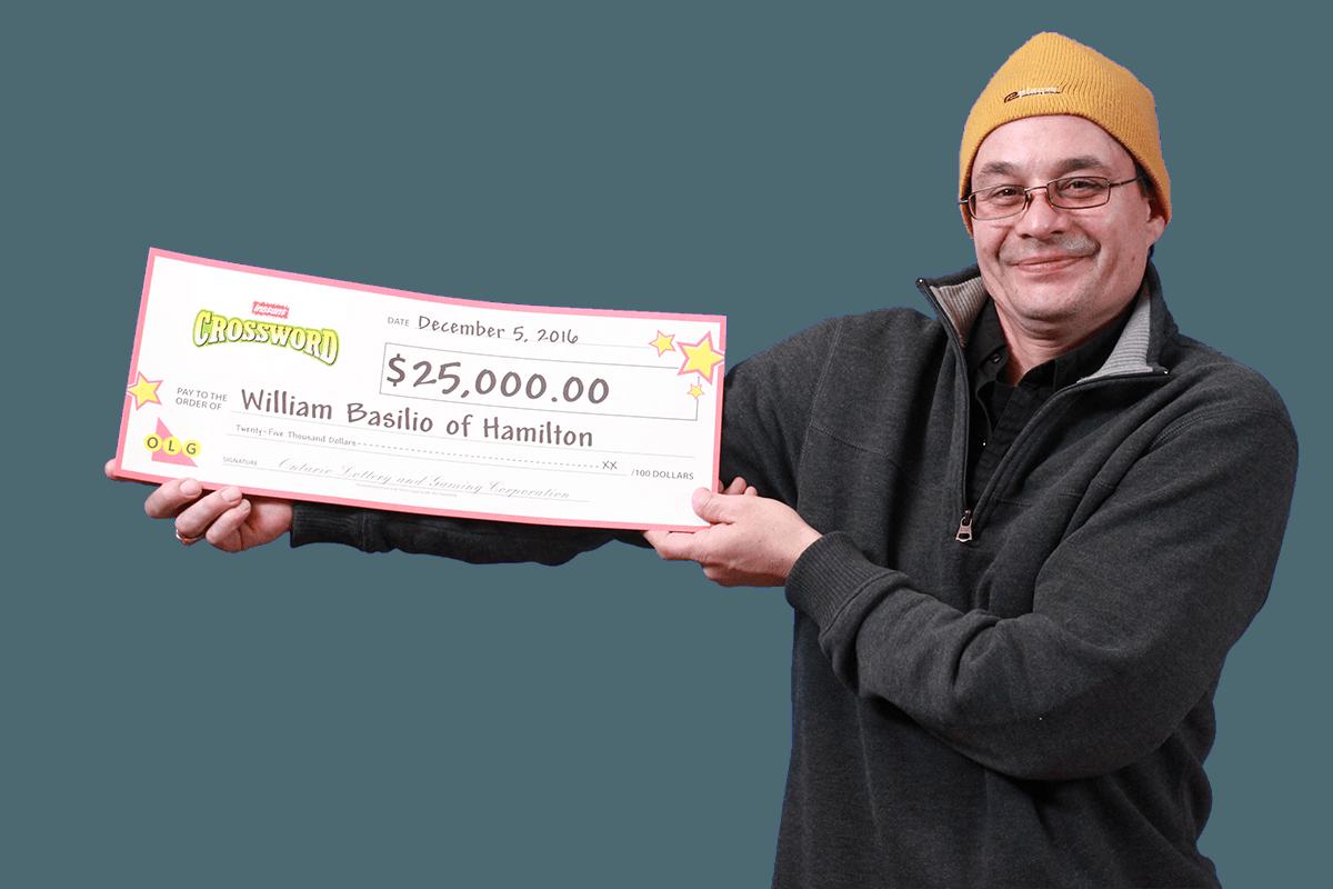 RECENT Instant WINNER - William Basilio