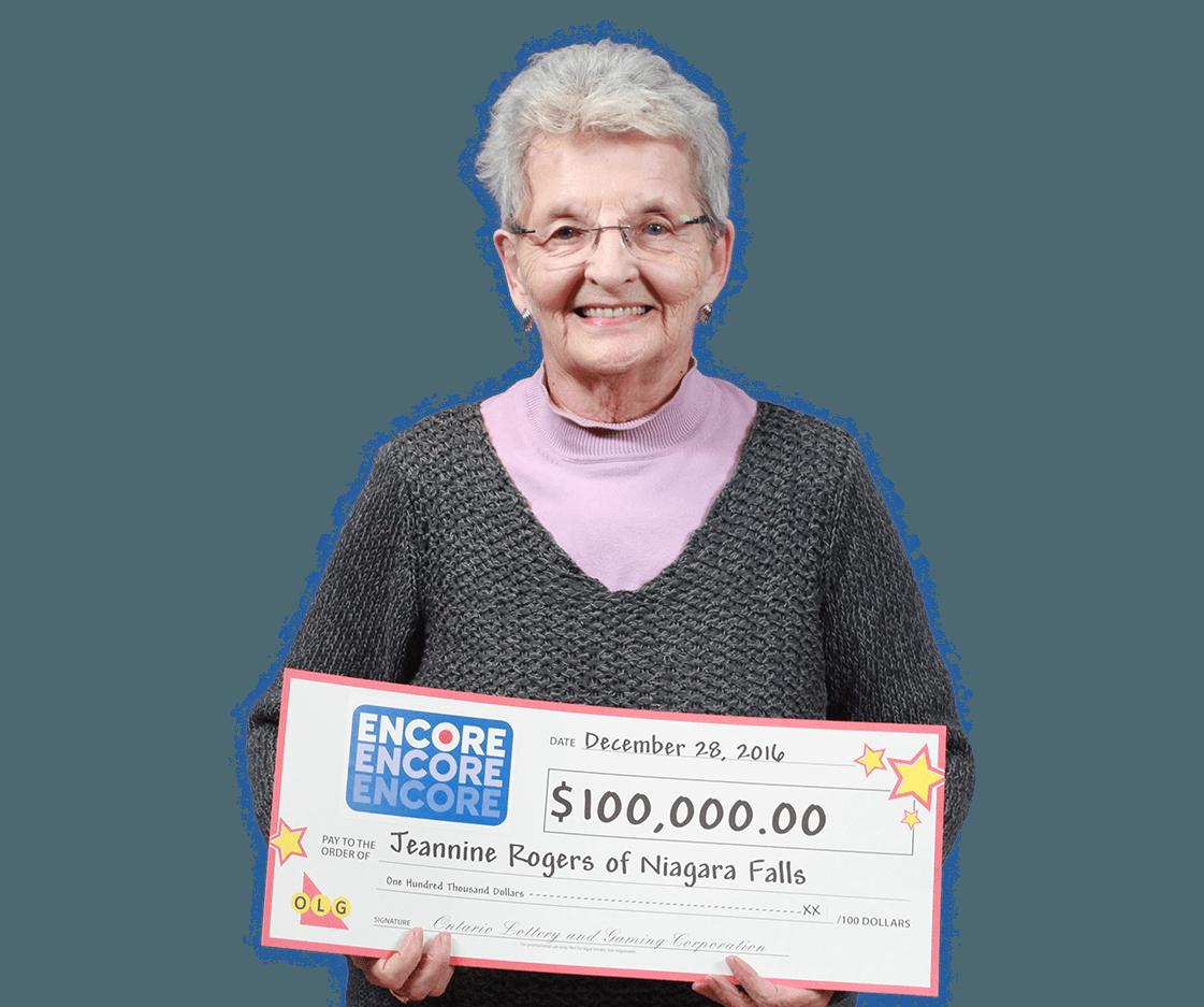 RECENT Encore WINNER - Jeannine Rogers