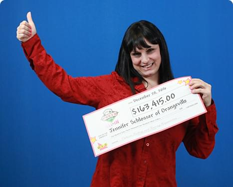 RECENT Poker Lotto WINNER - Jennifer Schlosser