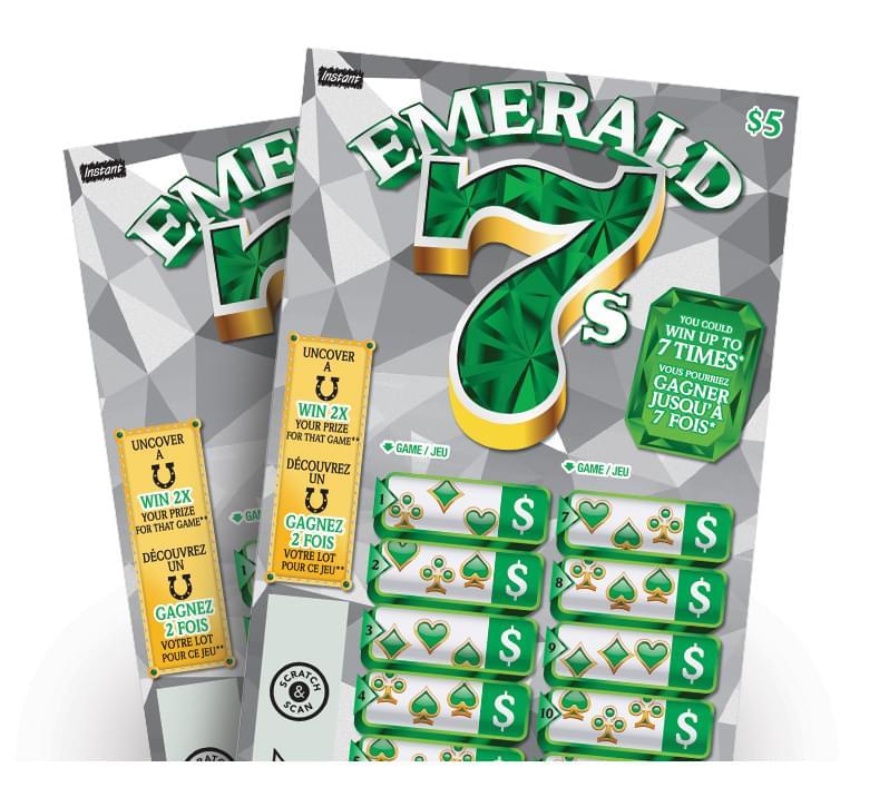 Emerald 7s ticket