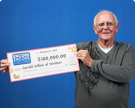 RECENT Encore WINNER - Gerald Willsie