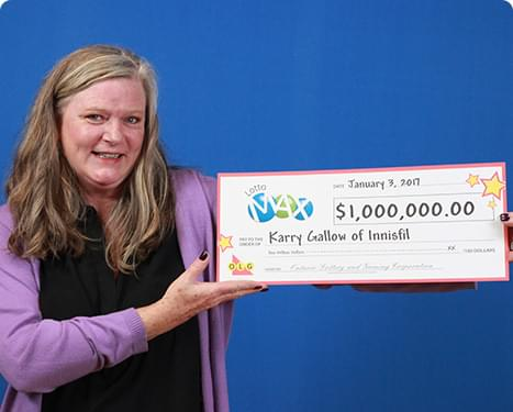 RECENT Lotto Max WINNER - Karry Gallow
