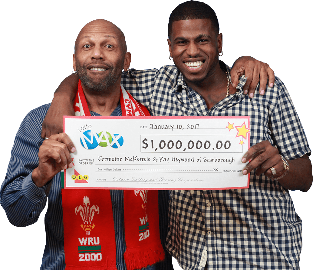 GAGNANTS RÉCENTS À Lotto Max - Jermaine McKenzie & Ray Heywood