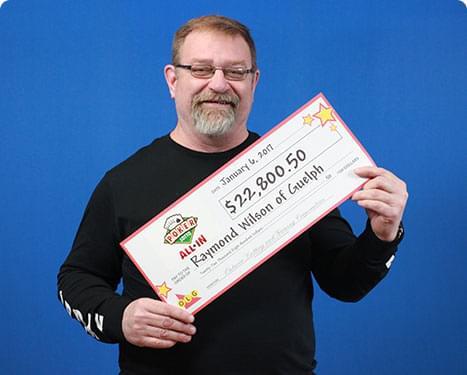RECENT Poker Lotto WINNER - Raymond