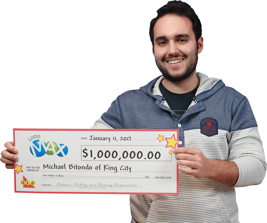 michael bitondo lotto max winner