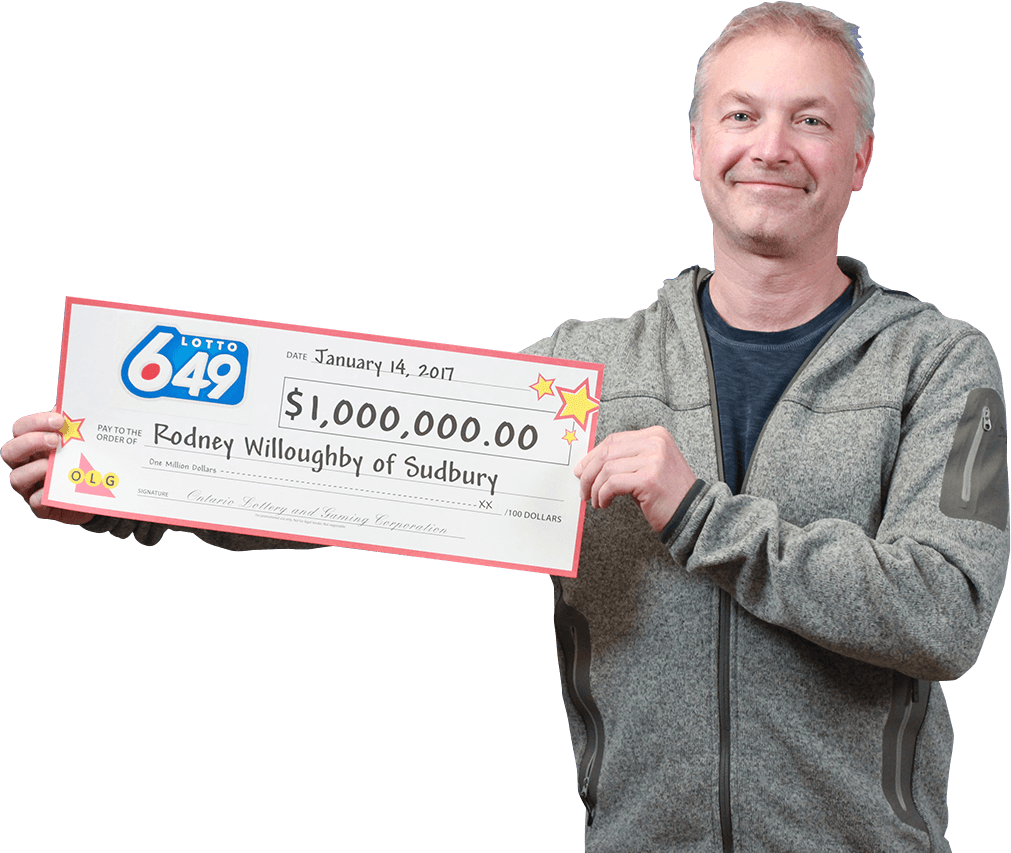 GAGNANT RÉCENT À Lotto 6/49 - Rodney Willoughby